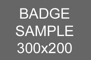 Sample Badge 300x200